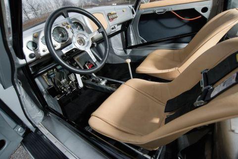 1955 Porsche 356 Emory Special Interior