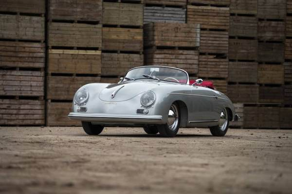 1955 Porsche 356 Pre-A Speedster (photo:Nicole Hains)