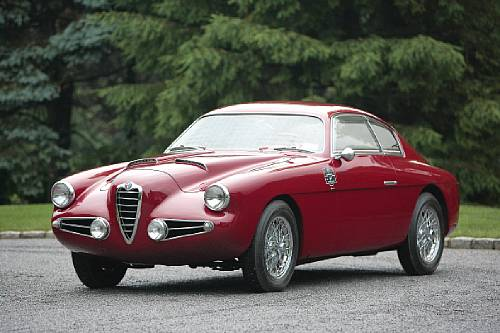 <strong>1955 Alfa Romeo 1900C Super Sprint Berlinetta – Estimate $400,000 - $500,000.</strong> Coachwork by Zagato.