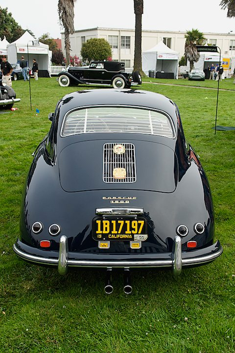 1955 Porsche Continental Coupe 1600