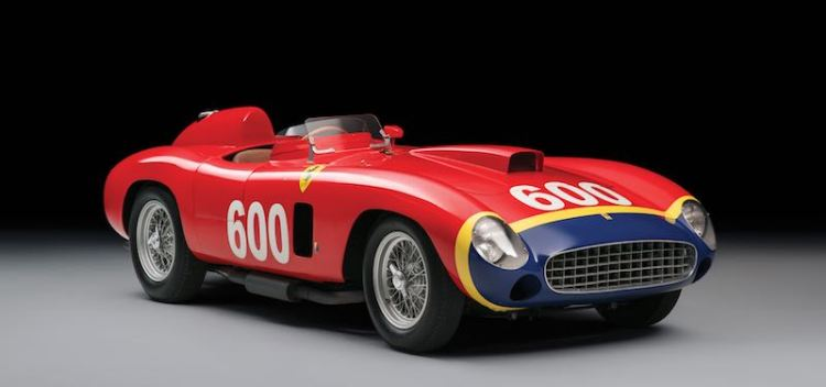 1956 Ferrari 290 MM, chassis 0626 (photo: Tim Scott)