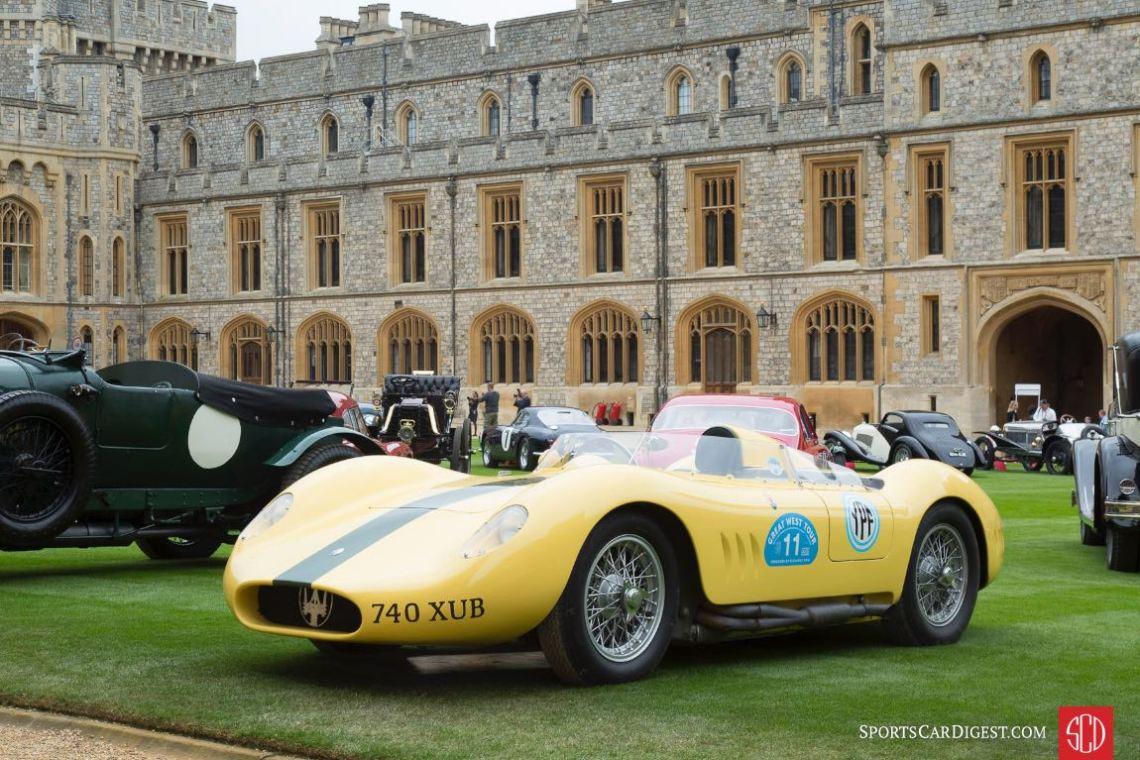 1956 Maserati Tipo 200s Barchetta