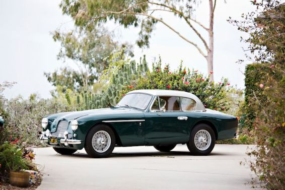 1957 Aston Martin DB2/4 Mk II Fixed Head Coupe (photo: Brian Henninger)