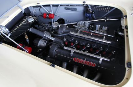 1957 Maserati 150 GT Spider Prototype Engine