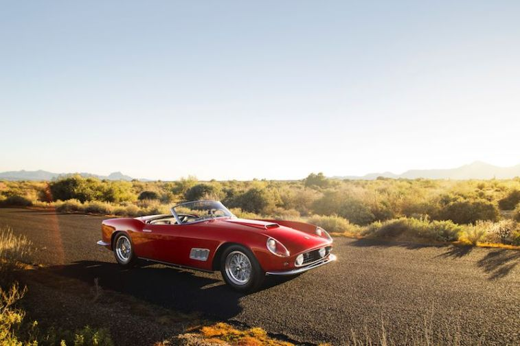 1958 Ferrari 250 GT LWB California Spider Top
