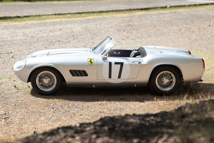 Ferrari 250 Gt Lwb California Spider Alloy Comp Car Profile