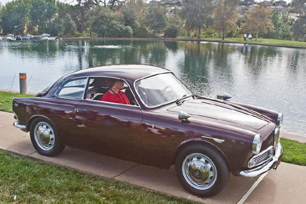 <strong>Italian Motorcars to 1987 - 1960 Alfa Romeo Giulietta Sprint, Bud Collins, Diamond Springs, CA</strong>
