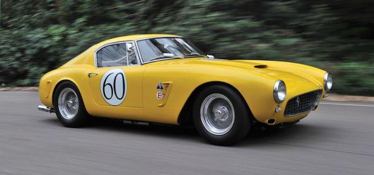 1960 Ferrari 250 GT SWB Berlinetta Competizione (photo: Tim Scott / Fluid Images)