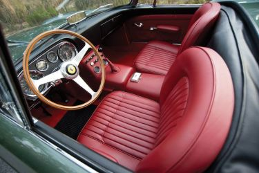 1960 Ferrari 400 Superamerica SWB Cabriolet by Pinin Farina Interior (photo: Darin Schnabel)