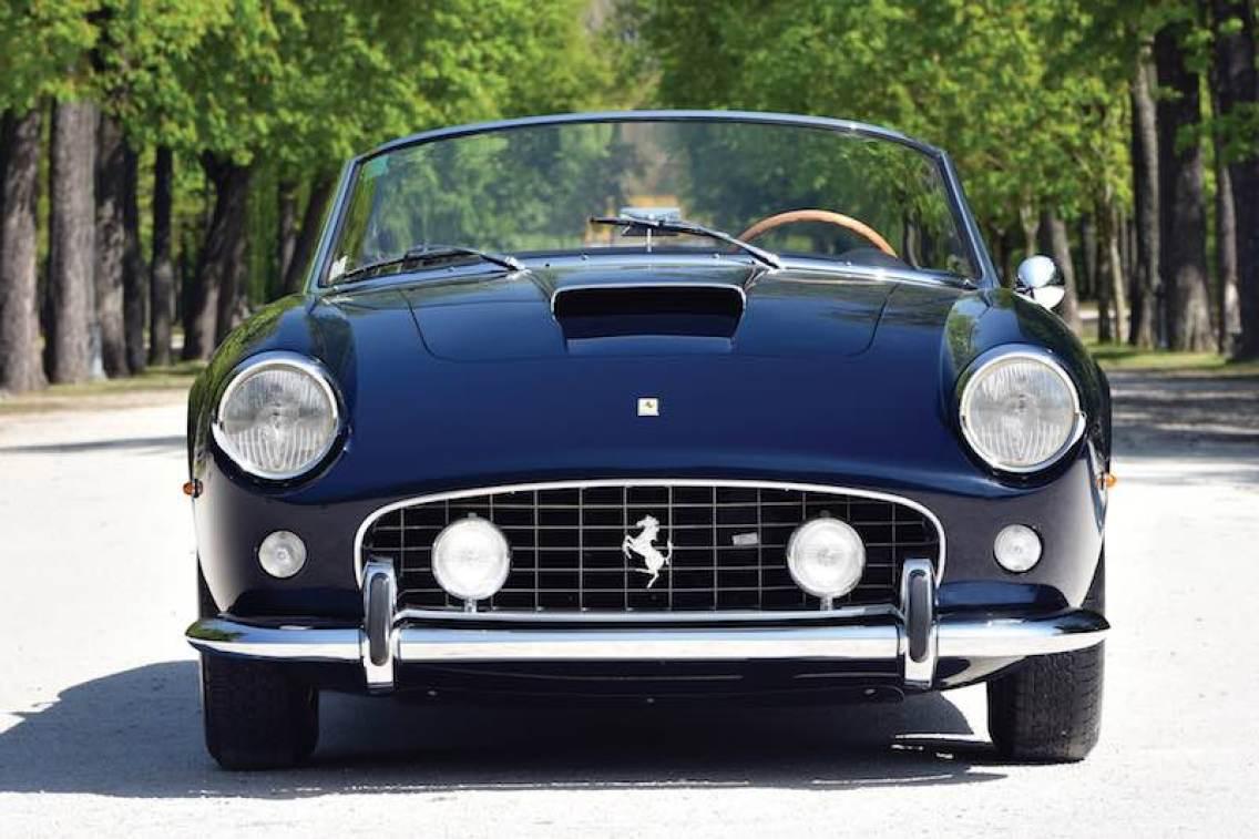 1961 Ferrari 250 GT SWB California Spider (photo: Tim Scott)