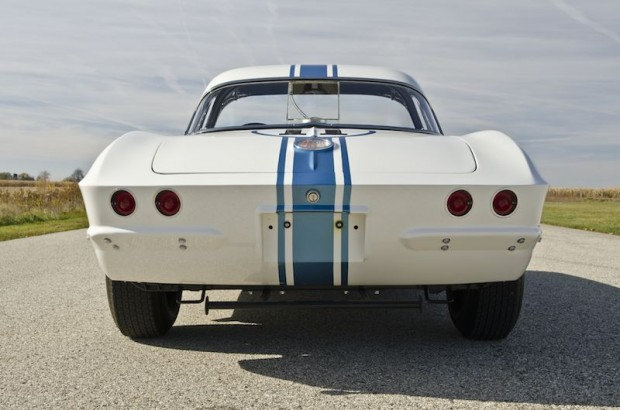 1961 Chevrolet Corvette Gulf Oil Race Car Rear