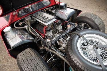 1964 Ferrari 250 LM Engine (photo: Darin Schnabel)