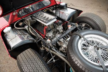 1964 Ferrari 250 LM Engine (photo: Darin Schnabel)