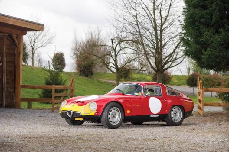 1965 Alfa Romeo Giulia Tubolare Zagato (photo: Dirk de Jager)