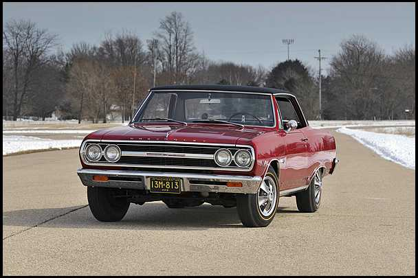 <strong>1965 Chevrolet Chevelle SS Z16 Sold for $375,000</strong> - the original Z16 prototype; the very first SS396 Chevelle