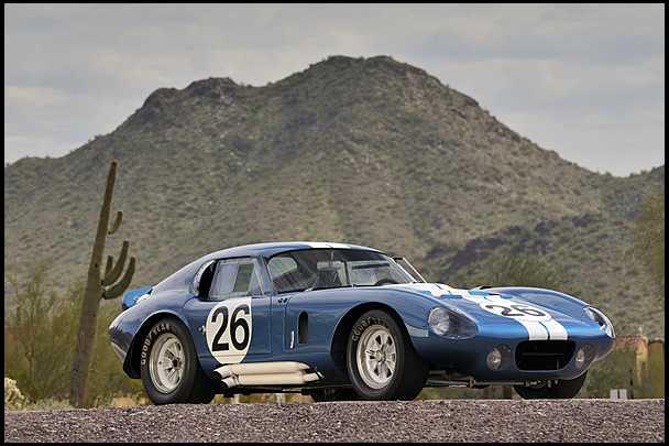 <strong>1965 Shelby Daytona Cobra Coupe</strong> – CSX2601, FIA Championship Winner
