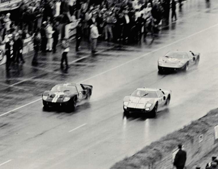 Finish of the 1966 Le Mans 24 Hours