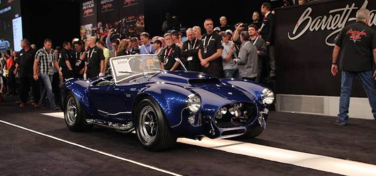 1966 Shelby Cobra 427 Super Snake Auction Block