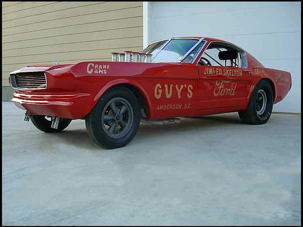<strong>1966 Ford Mustang Holman Moody 427 SOHC Funny Car</strong>