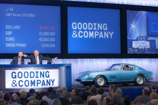 1967 Ferrari 275 GTB/4 sold for $3,300,000