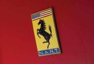 1967 Ferrari 275 GTB/4 N.A.R.T. Spider Badge