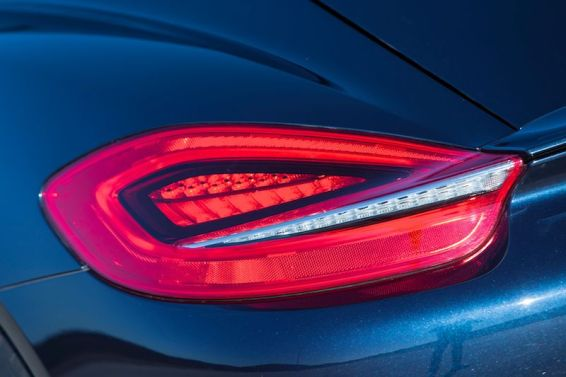 2014 Porsche Cayman S - Rear Lighting Detail