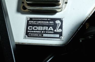 1967 Shelby 427 Cobra S/C Chassis (photo: David Newhardt)