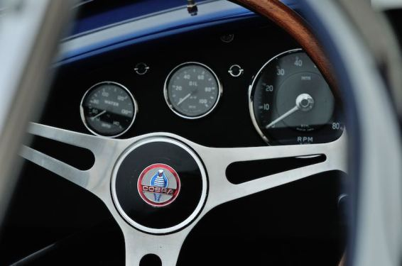 1967 Shelby 427 Cobra S/C Steering Wheel (photo: David Newhardt)