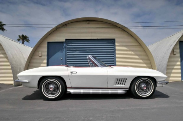 The Mitchell Car - a 1967 Chevrolet Corvette Convertible created by GM styling legend Bill Mitchell as a gift to his wife