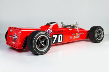 1968 Lotus 56 Turbine Indy Race Car Rear