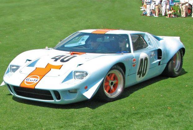 1968 Ford GT40 Mk II won Cars of David Hobbs Class