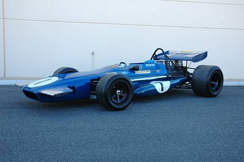 <strong>1970 March-Cosworth Formula 1 – Estimate $100,000 - $125,000. </strong>Campaigned by Tyrrell, Jackie Stewart drove chassis 701-2 to victory at Spanish Grand Prix, plus pole position at three races.