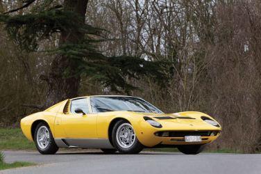 1971 Lamborghini Miura P400 S (photo: Bernard Canonne)