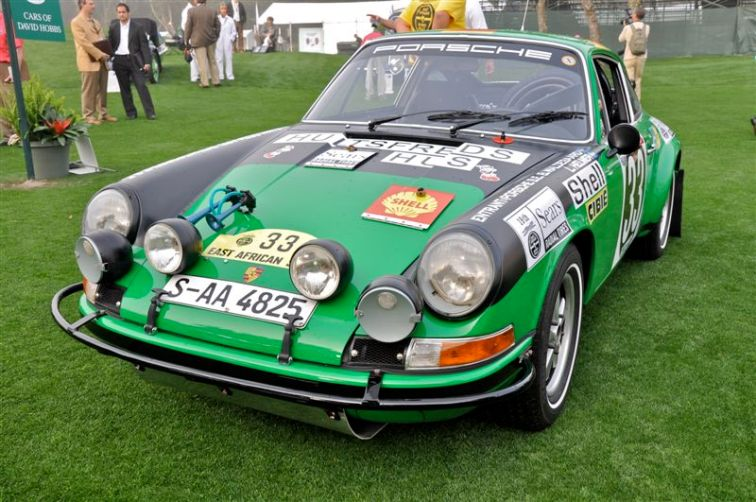 1971 Porsche 911 STR as driven that year in the East African Safari Rally