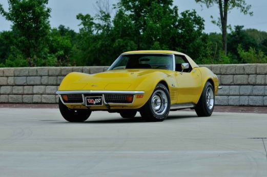 1972 Chevrolet Corvette Convertible with 4 miles
