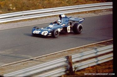 Francois Cevert's Tyrrell in Saturday practice