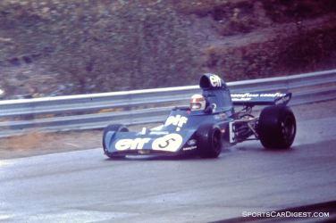 Jackie Stewart in Saturday practice