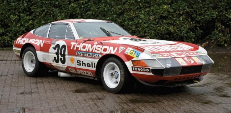 1973 Ferrari 365 GTB 4 Daytona Competizione Group IV