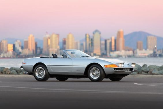 1973 Ferrari 365 GTB/4 Daytona Spider (photo: Robin Adams)