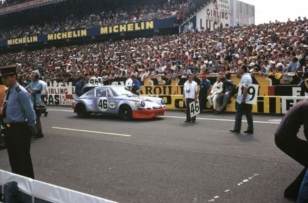 1973 Porsche 911 RSR 'Mary Stuart' of Gijs van Lennep and Herbert Muller finished 4th overall at Le Mans