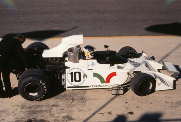 Brabham BT42 of Carlos Reutemann
