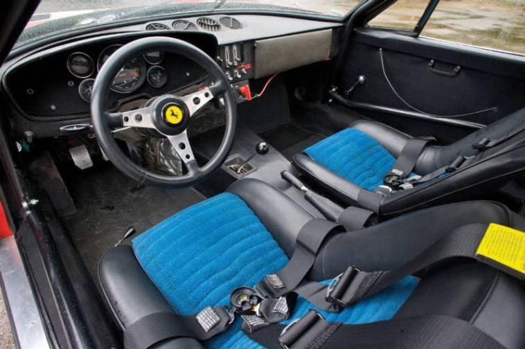 Ferrari 365 GTB/4 Daytona Competizione Interior