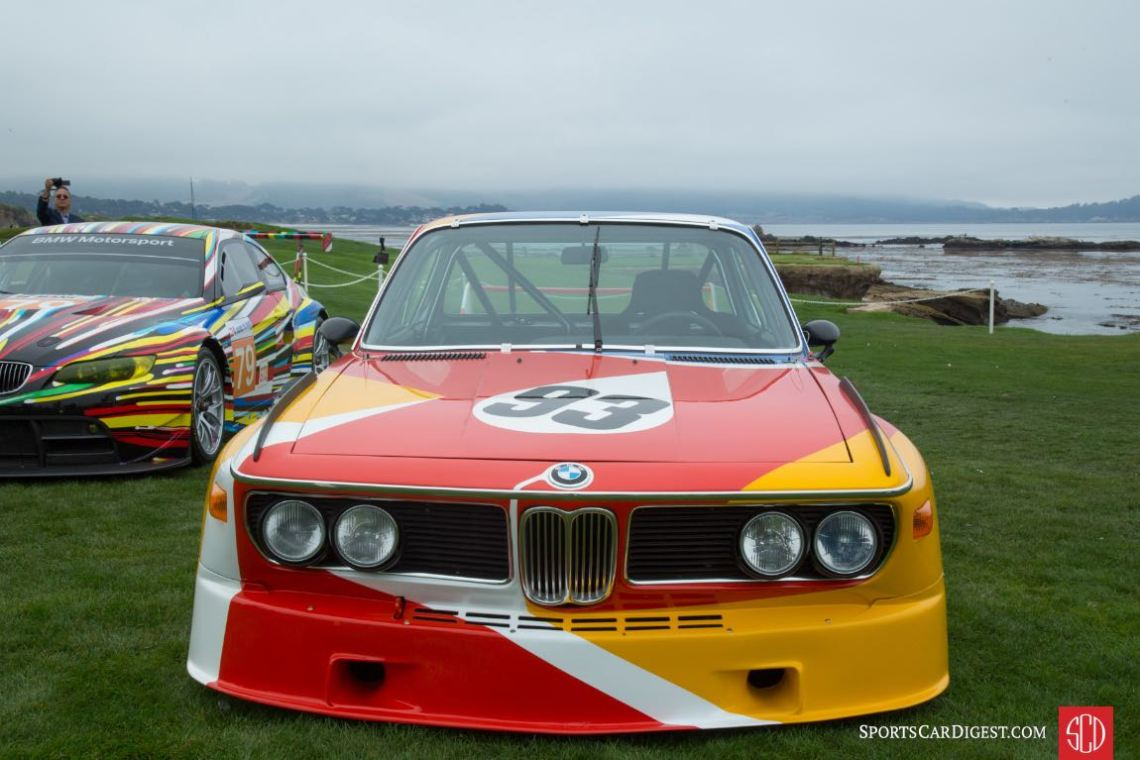 1975 BMW 3.0 CSL Alexander Calder Race Car