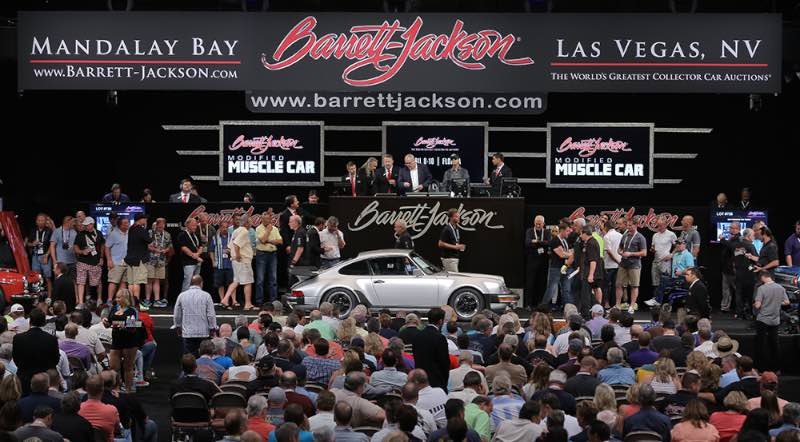 Barrett Jackson Las Vegas 2015 Auction Results