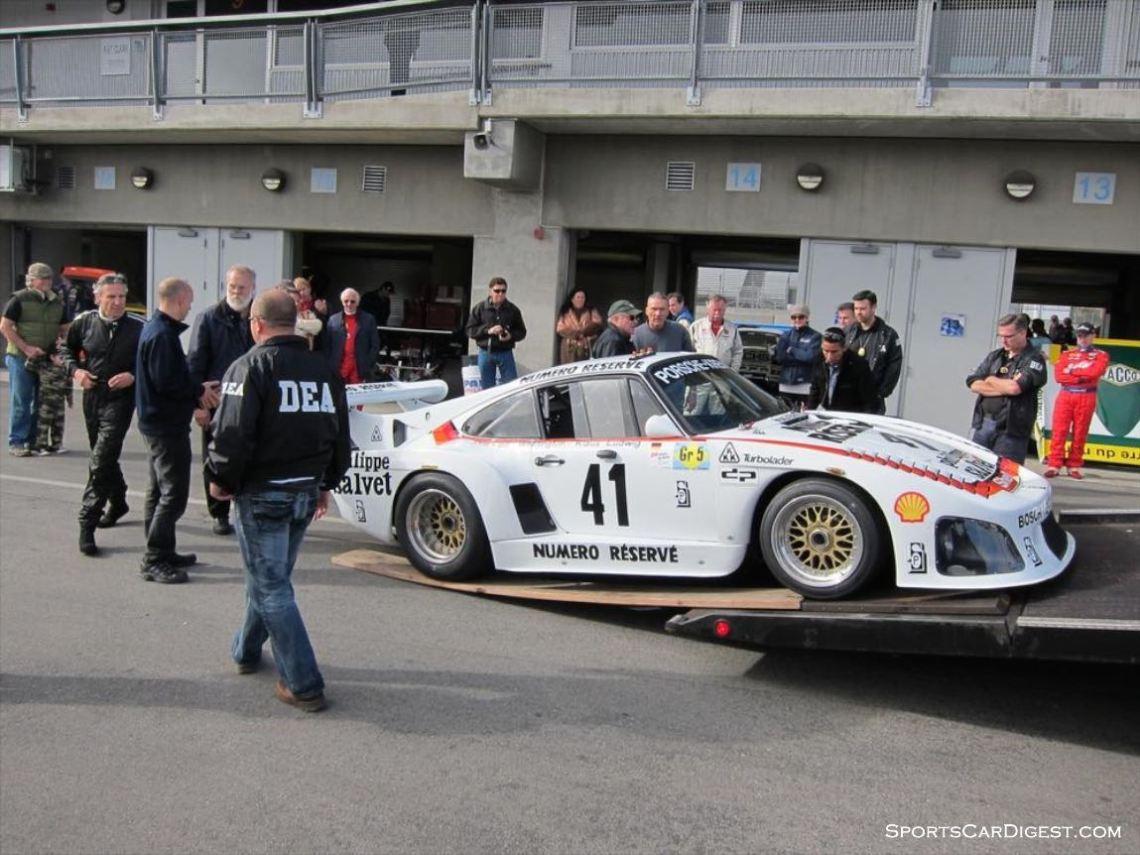 Bruce Meyer Porsche 935 K3 DEA Seizure