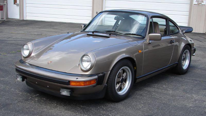 1980 Porsche 911 SC Weissach Edition