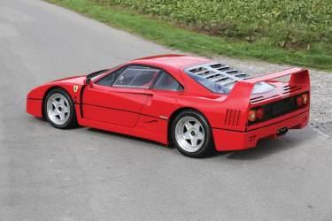 1989 Ferrari F40 (photo: Boris Adolf)