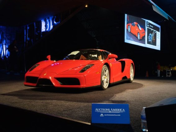 2004 Ferrari Enzo sold for$1,870,000