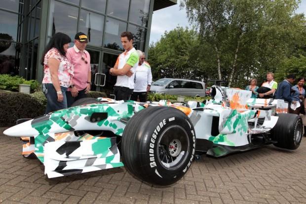 Force India VJM01-05 Art Car