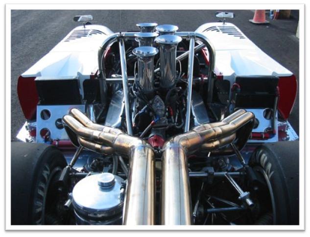 Lola T222 Engine